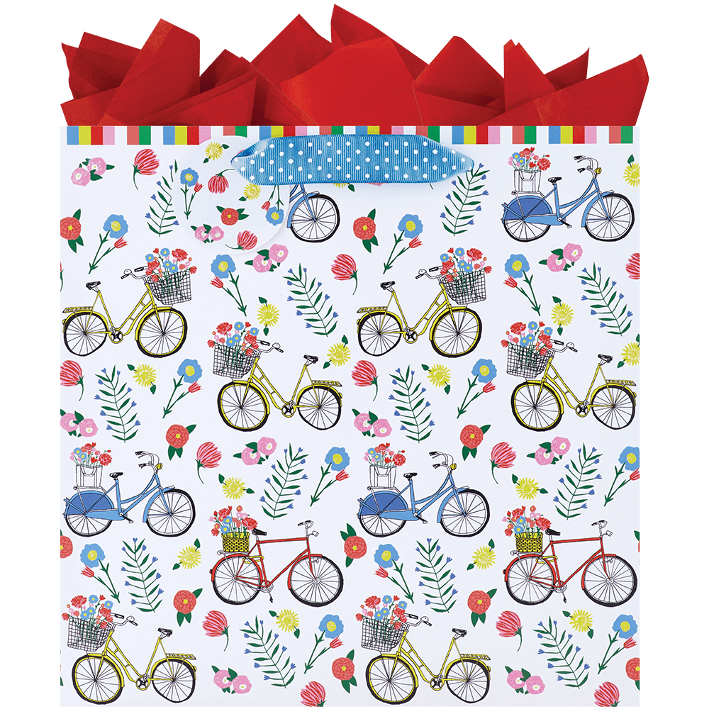 A Ride In The Park - Large Gift Bag