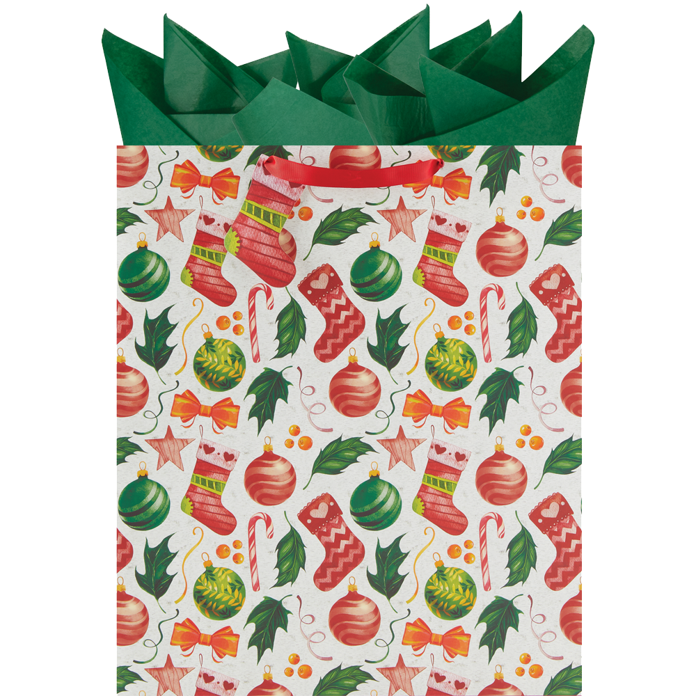 Holiday Toss - Jumbo Gift Bag