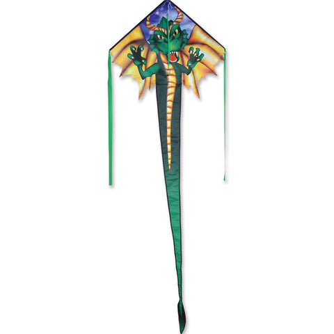 Emerald Dragon Easy Flyer Kite