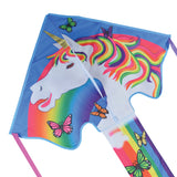Large Easy Flyer Magical Unicorn Kite