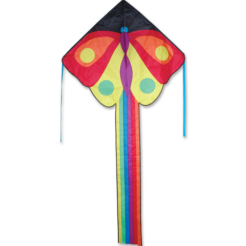 Large Easy Flyer Rainbow Butterfly Kite