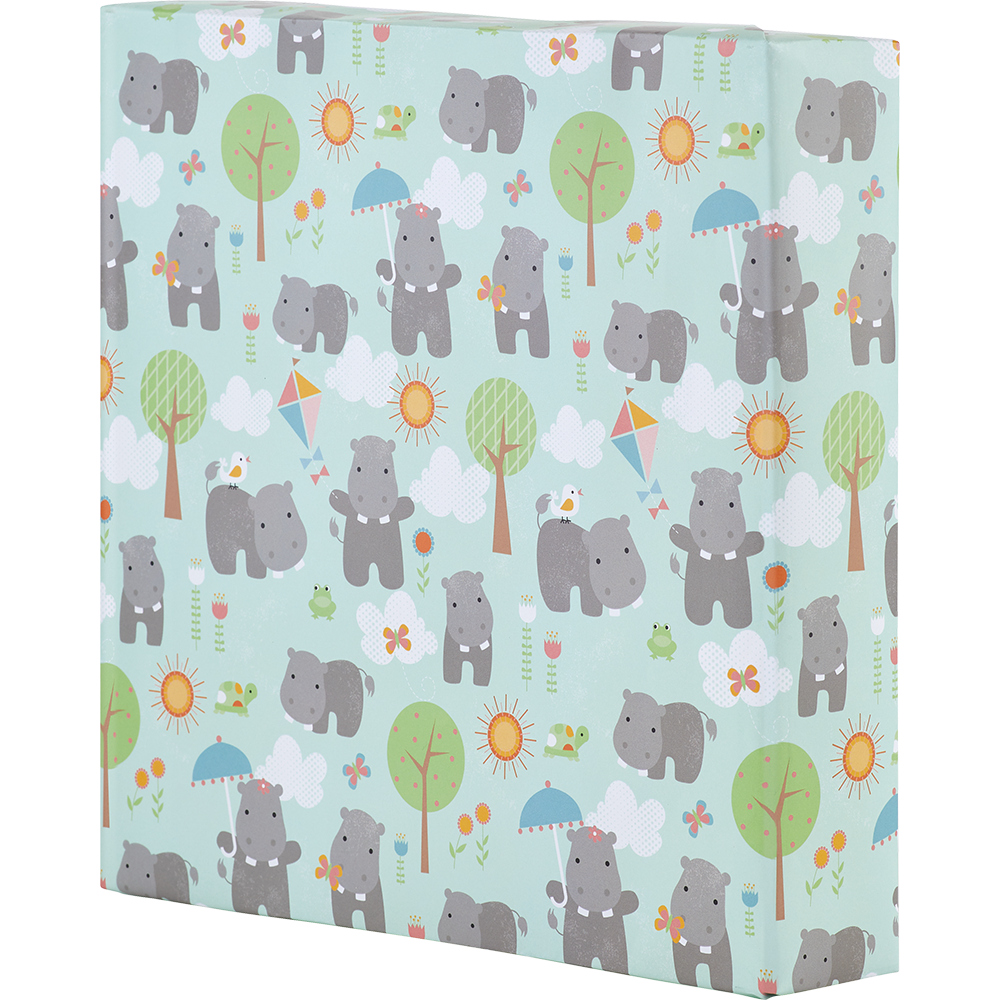 Wrapping Paper - Happy Hippos
