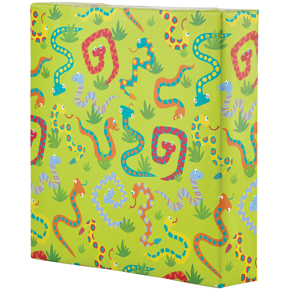 Wrapping Paper - Silly Snakes