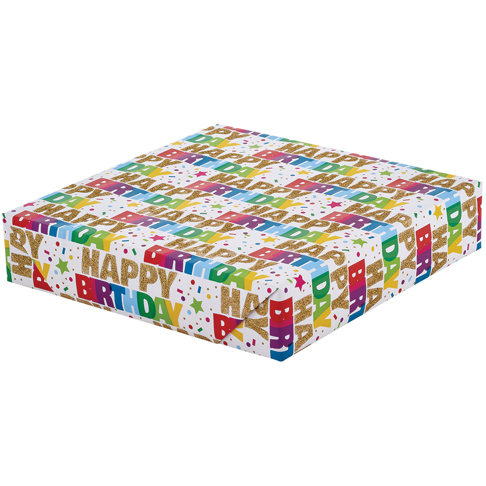 Wrapping Paper - Sparkling Celebration