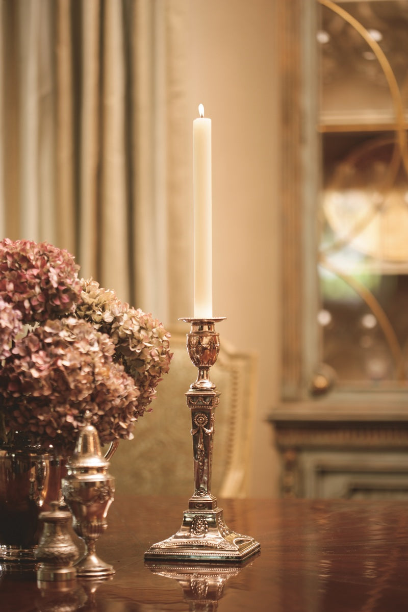 "Timberline Arista Candle - 9"" Ivory"