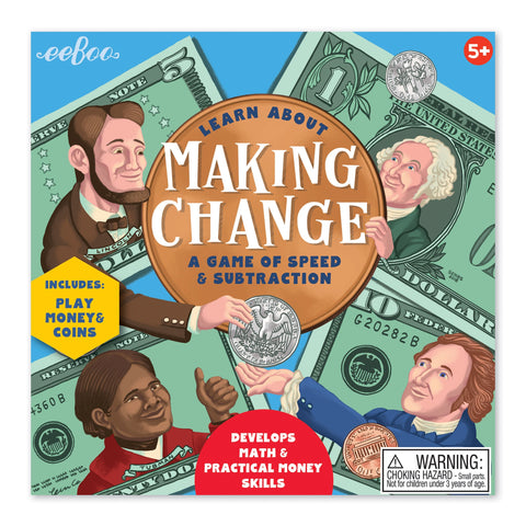 Learn About Making Change a Game Of Speed And Subtraction