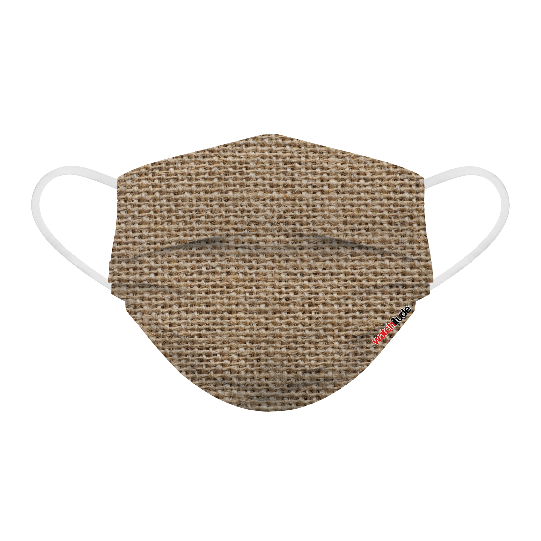 6 Pack Disposable Masks - Burlap & Blue Linen