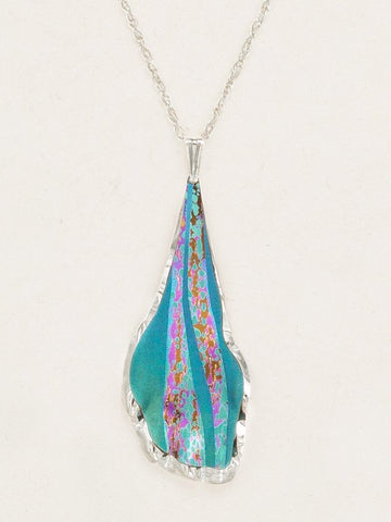 Holly Yashi Wavelength Necklace - Teal