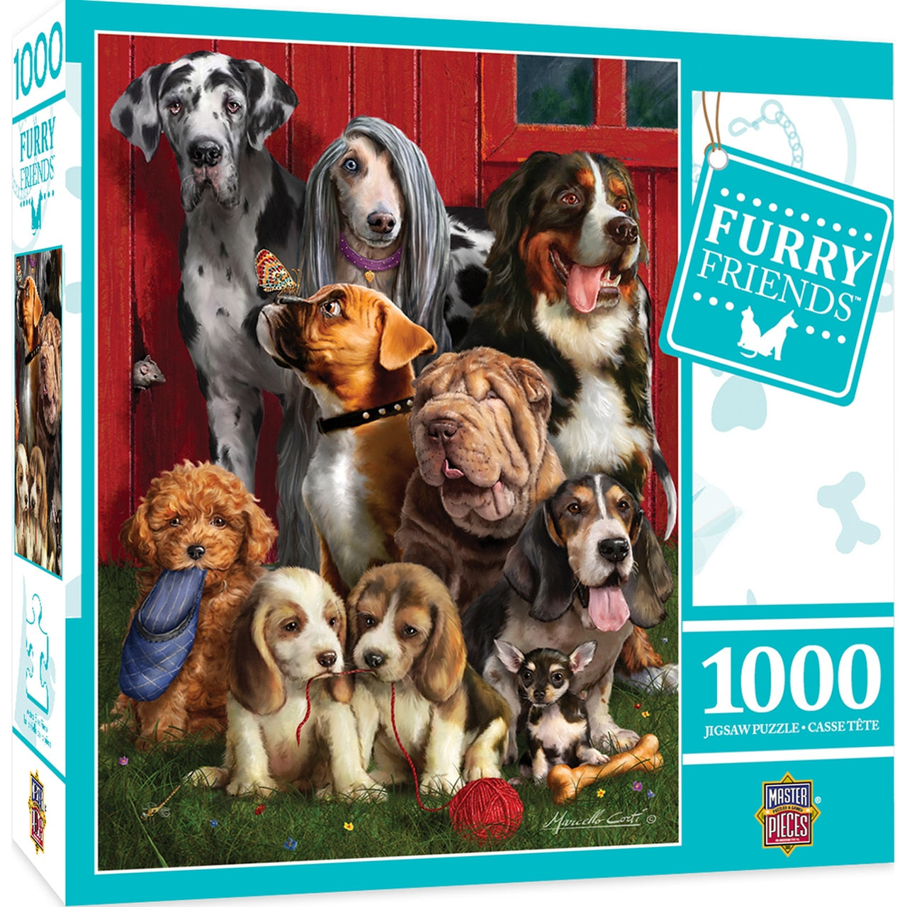Furry Friends - Sitting Pretty 1000 Piece Puzzle