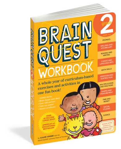 Brain Quest Workbook - 2nd Grade