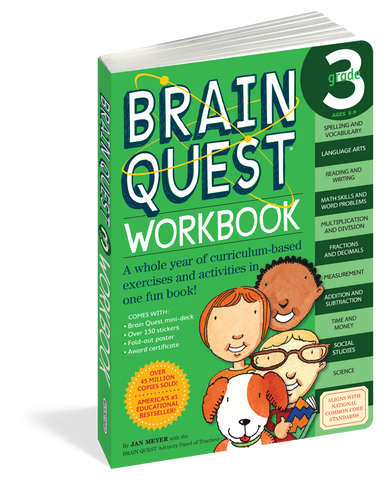 Brain Quest Workbook - 3rd Grade