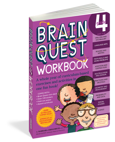 Brainquest Workbook - 4th Grade