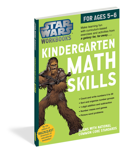 Star Wars Workbook - Kindergarten Math Skills