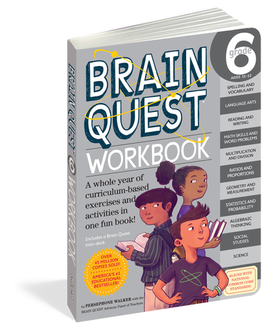 Brain Quest Workbook - 6th Grade