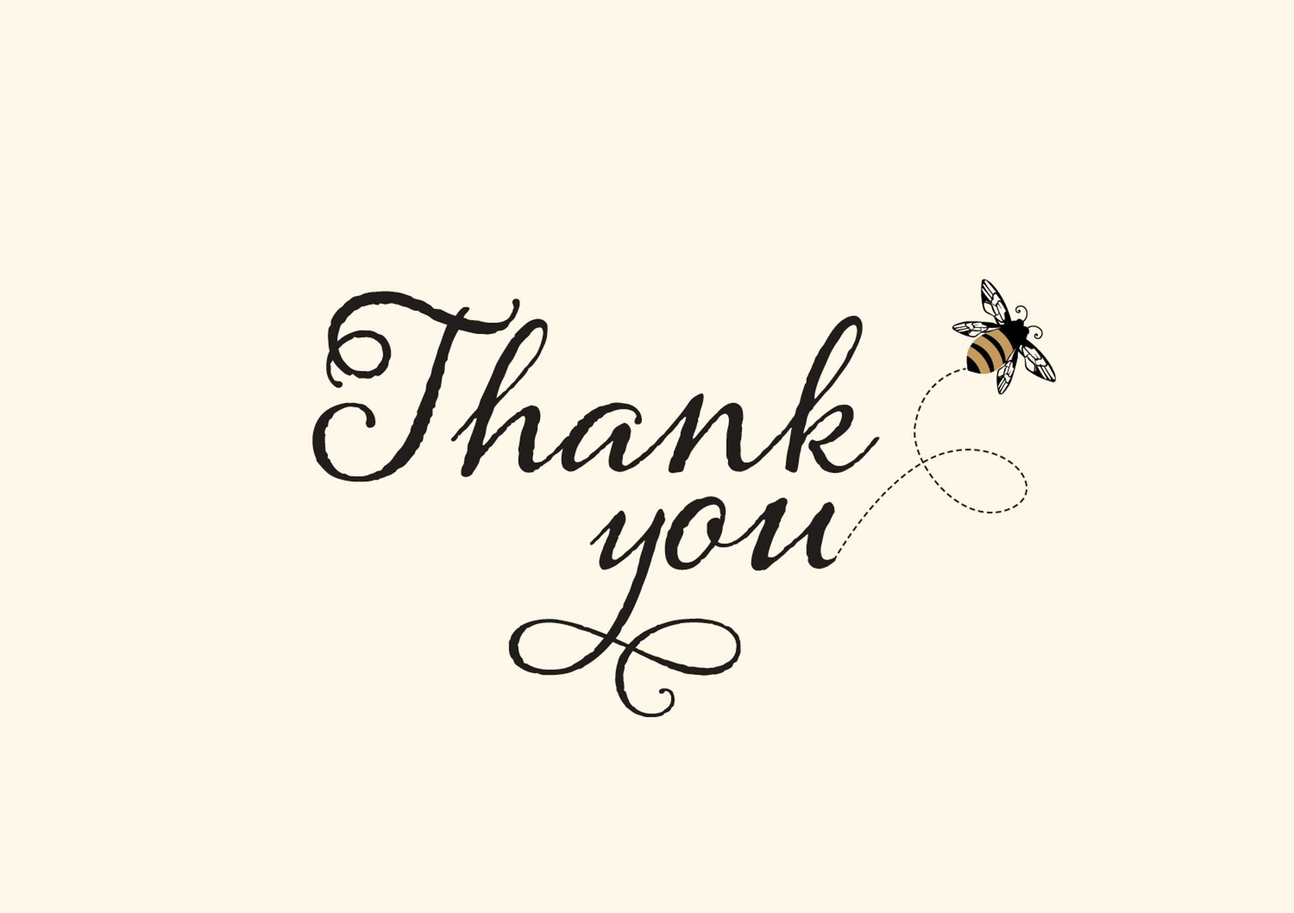 Boxed Thank You Notes - Bumblebee