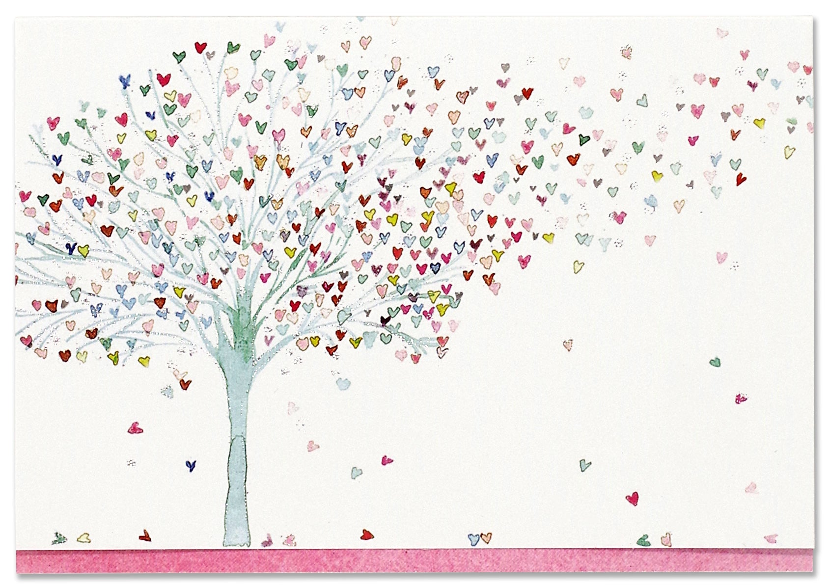 Boxed Note Cards - Tree Of Hearts
