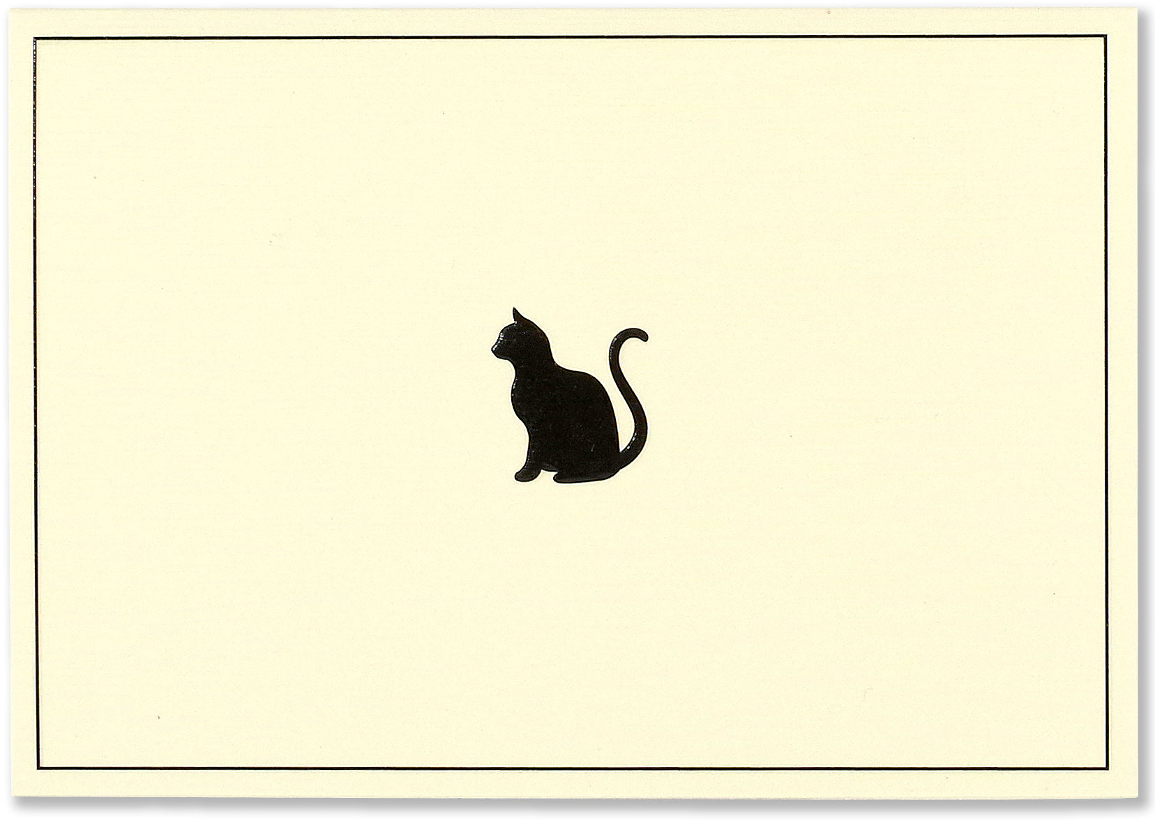 Boxed Note Cards - Black Cat