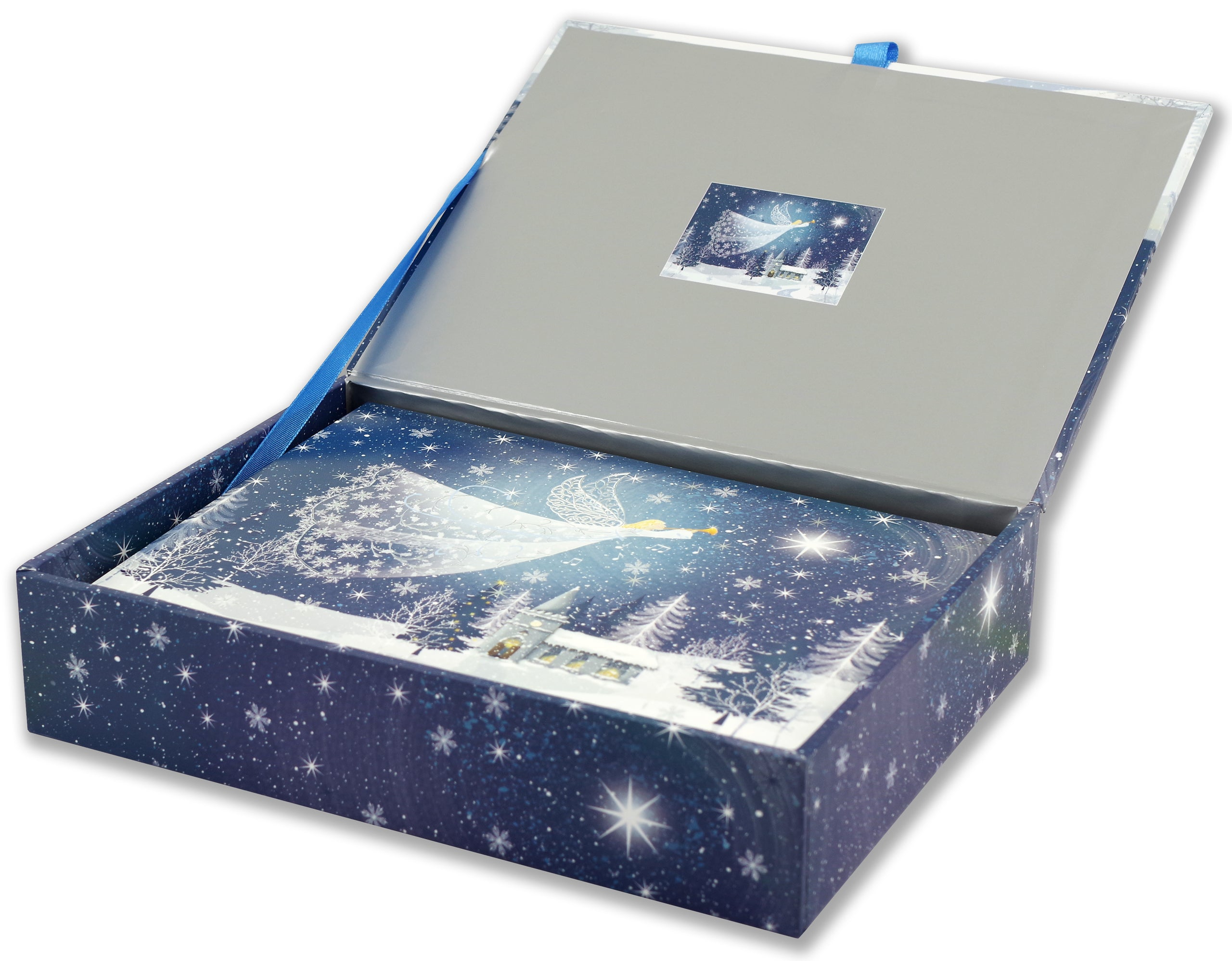 Deluxe Boxed Christmas Cards - Tidings Of Joy