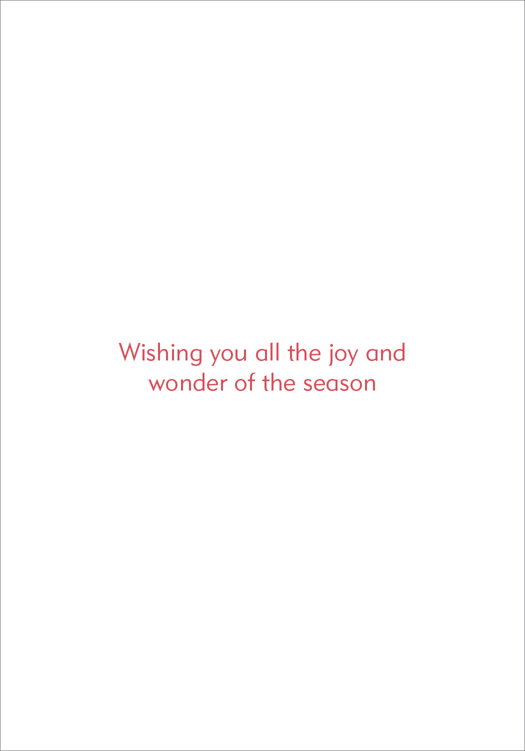 Boxed Christmas Cards - Joy To The World
