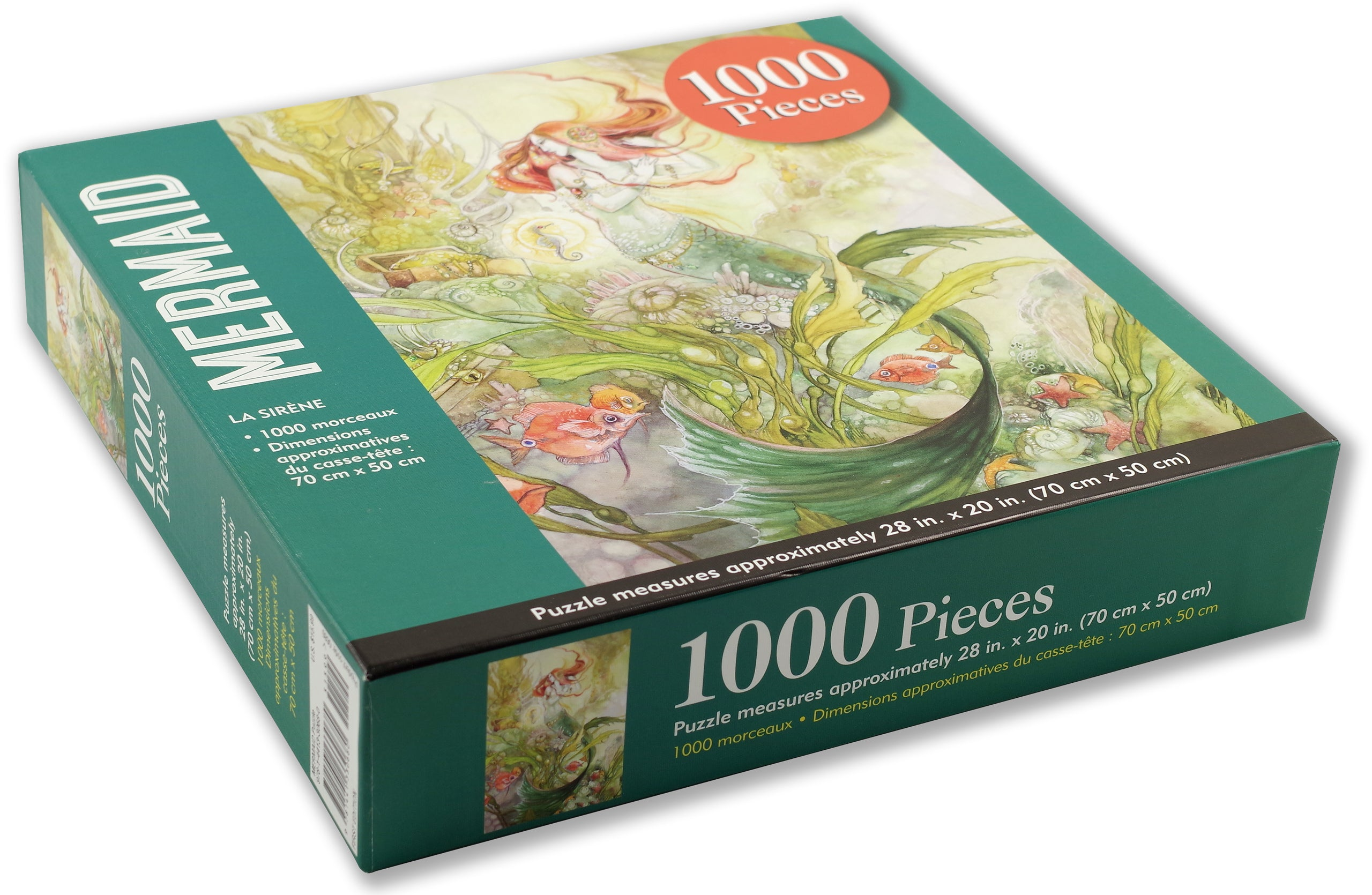Mermaid 1000 Piece Puzzle