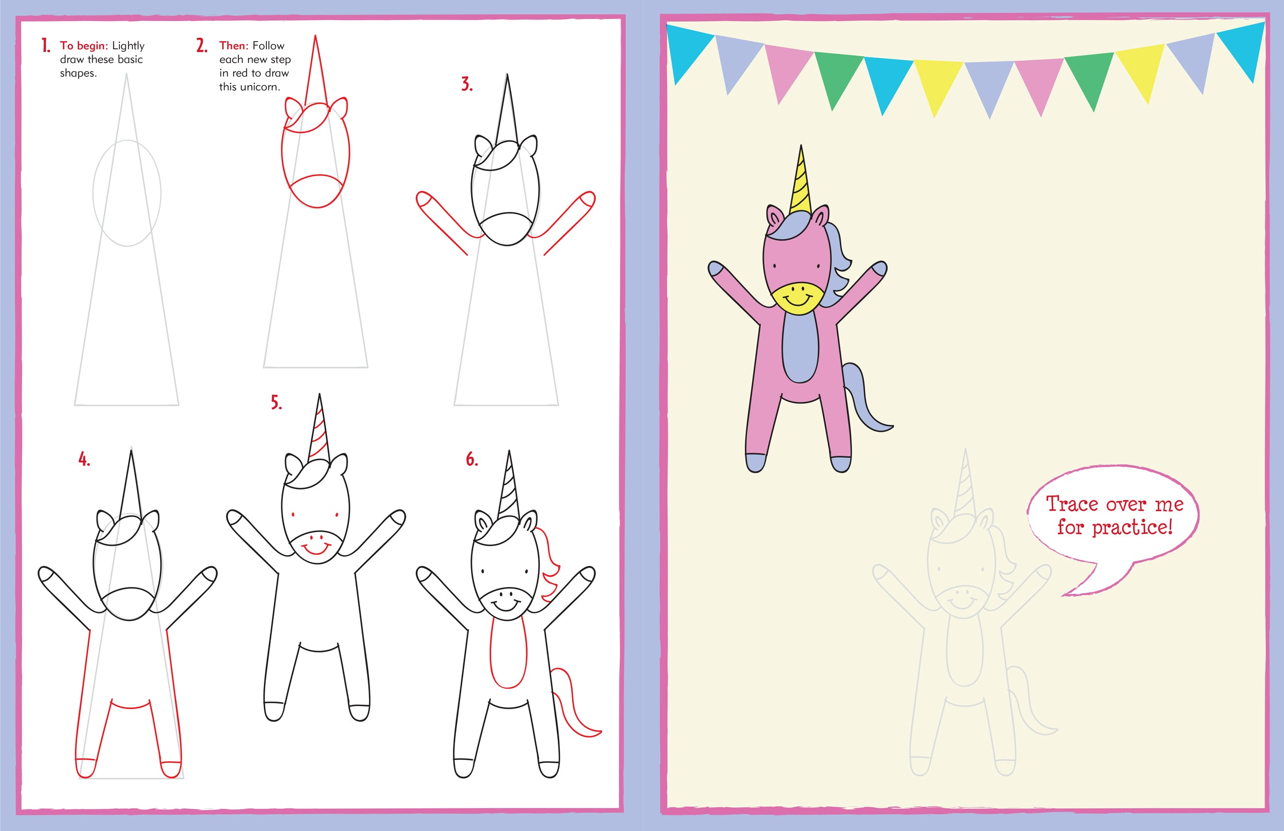 Learn To Draw... Unicorns, Mermaids, and More!