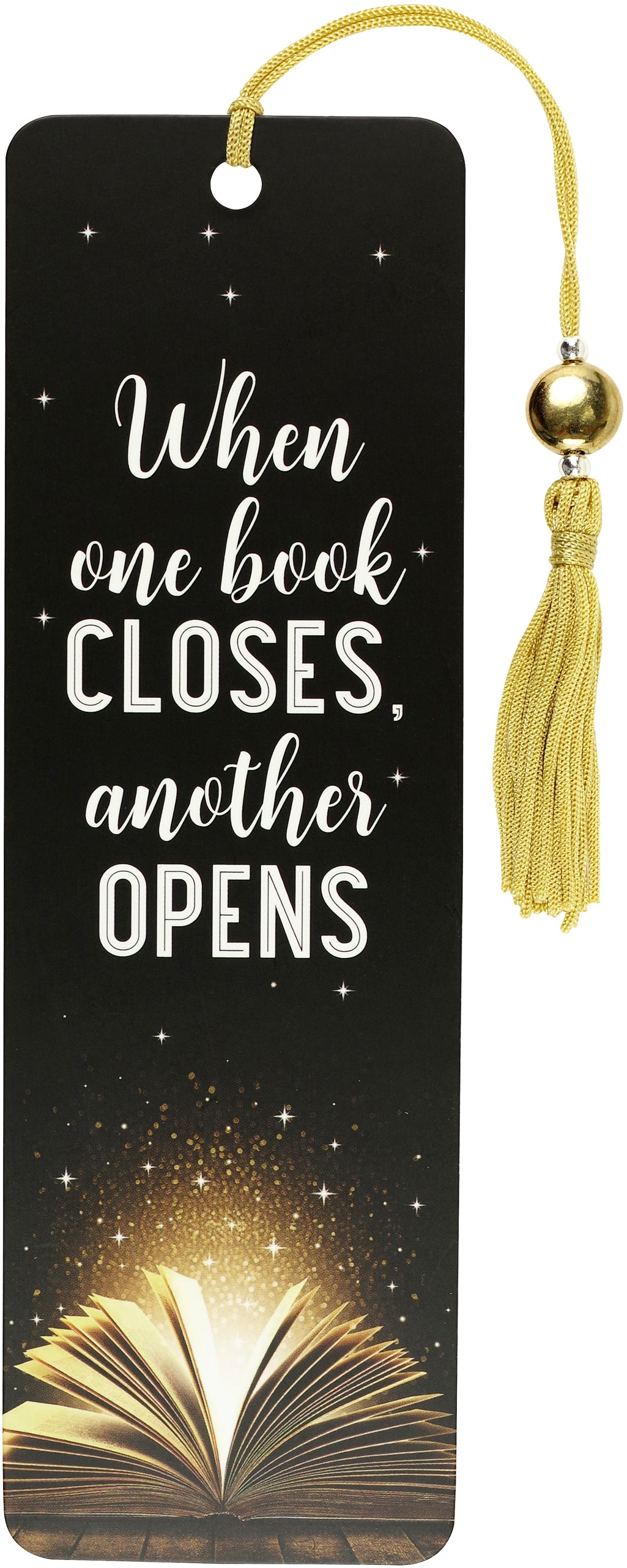 Bookmark - When One Book Closes Another Opens
