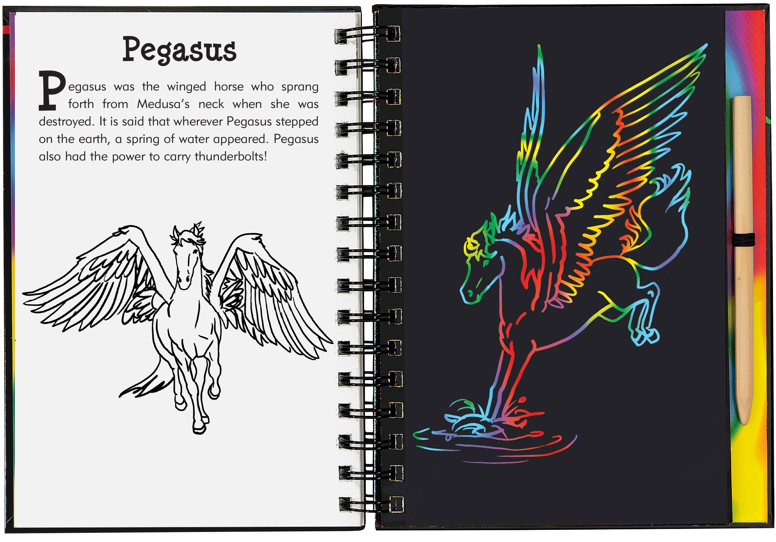 Scratch And Sketch - Dragons & Mythical Creatures