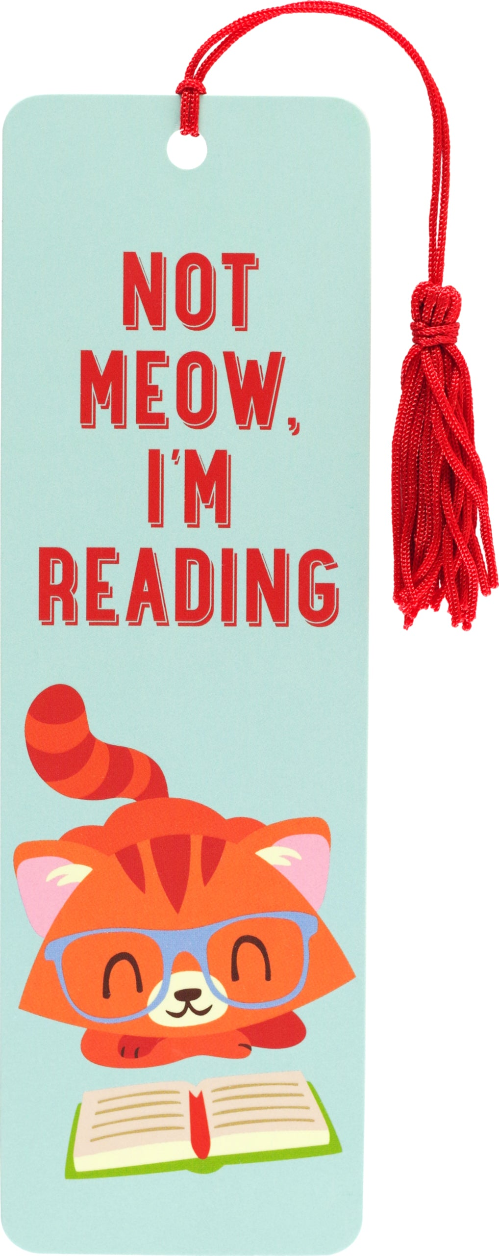 Bookmark - Not Meow, I'm Reading