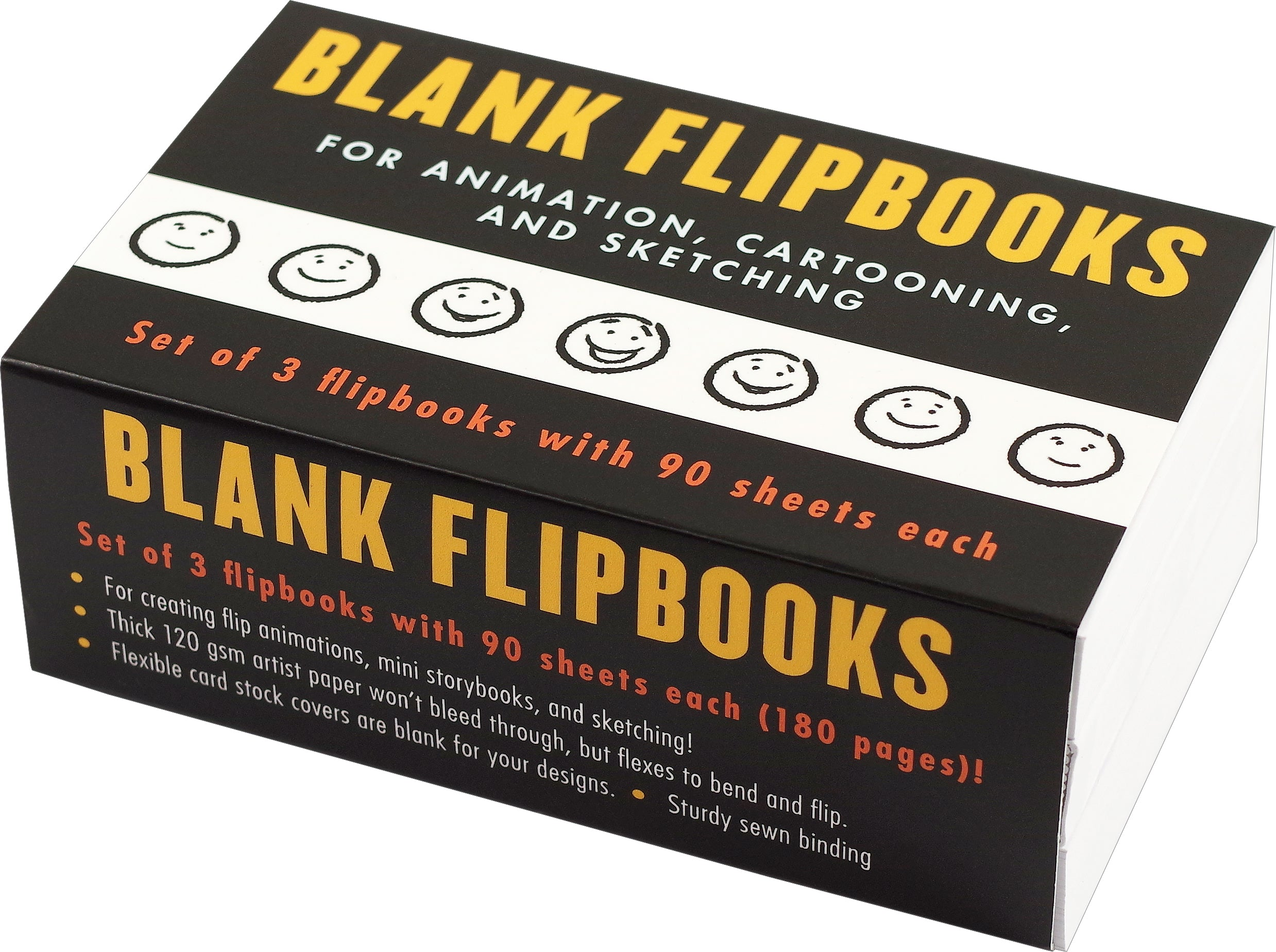 Blank Flipbooks - Animation, Cartooning, and Sketching