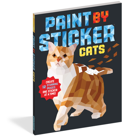 Paint By Sticker Cats