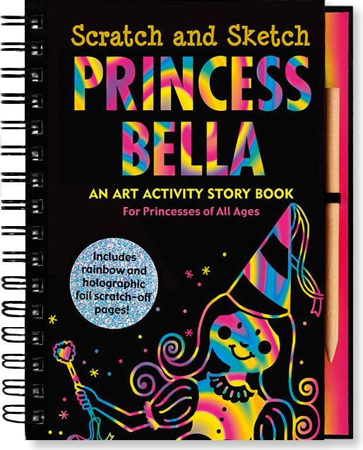 Scratch And Sketch - Princess Bella