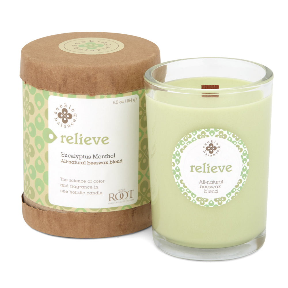 Seeking Balance Spa Candle - Relieve 6.5oz