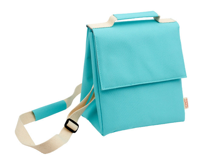 Insulated Super Good Lunch Sack - Aqua