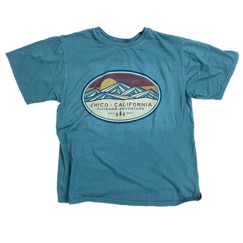 Abstract Mountain Chico T-shirt
