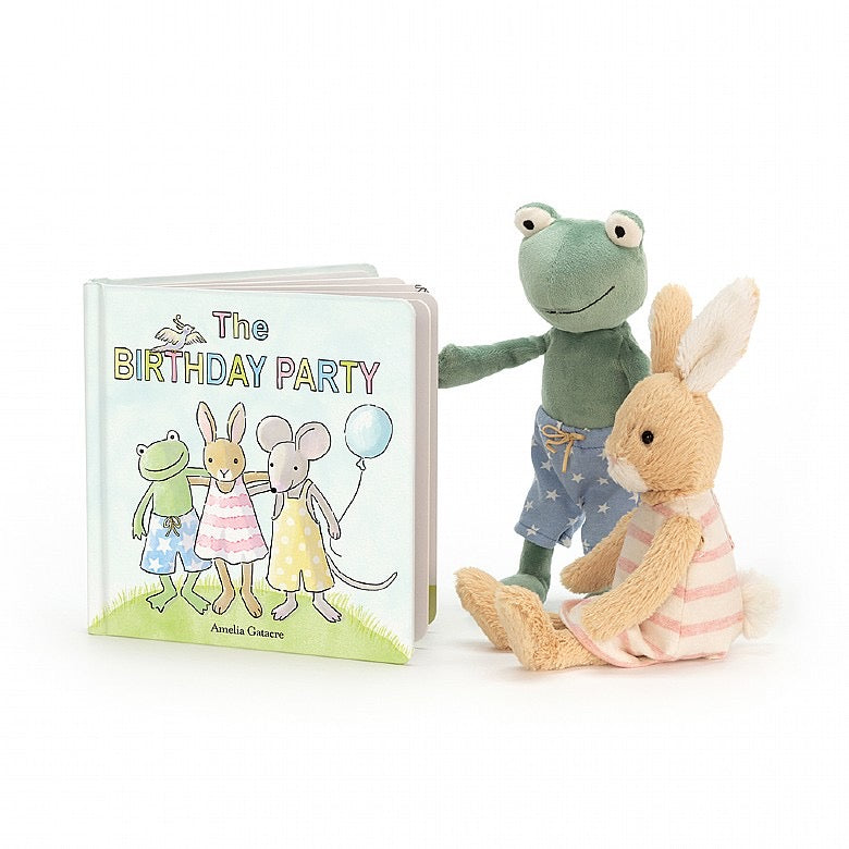 Jellycat Book - The Birthday Party