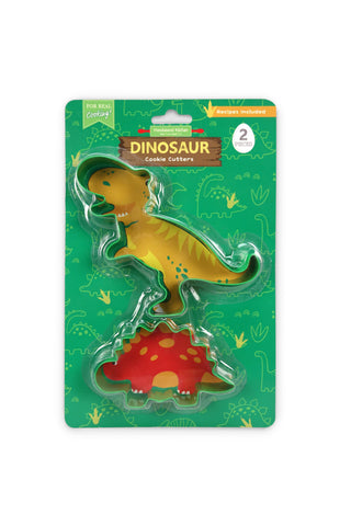 Dinosaur Set Of 2 Cookie Cutters