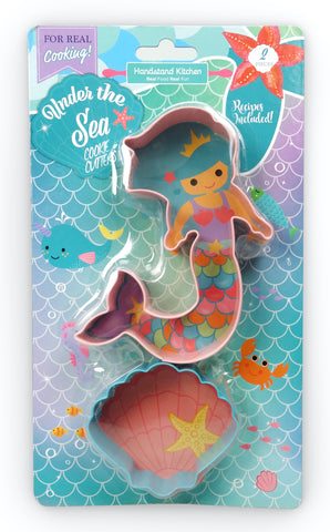 Under The Sea Set Of 2 Cookie Cutters
