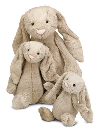 Bashful Beige Bunny by Jellycat