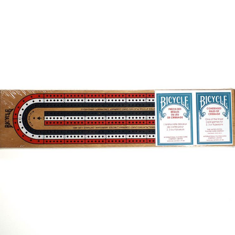 Bicycle Cribbage Board - 3 track