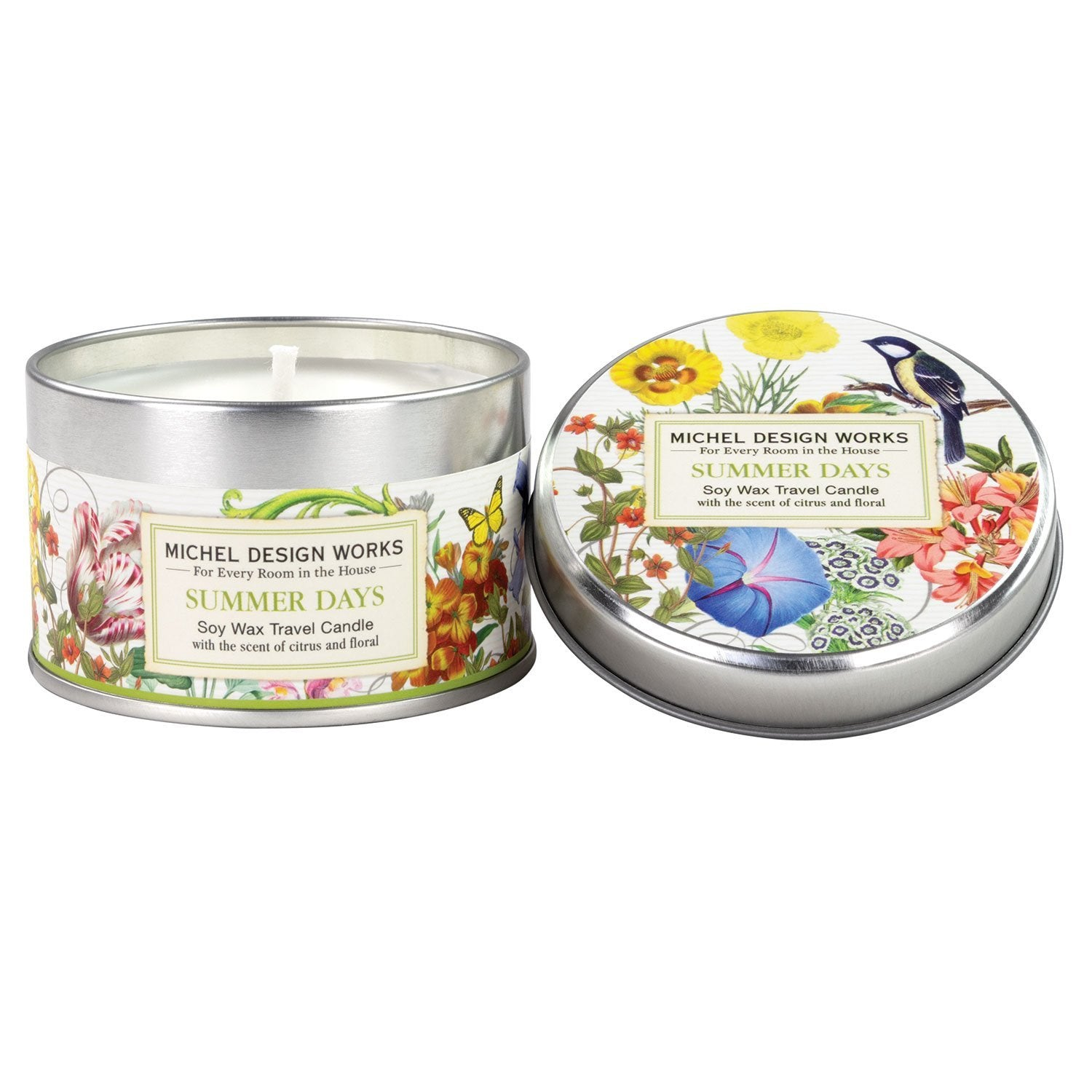 Summer Days - Soy Wax Travel Candle