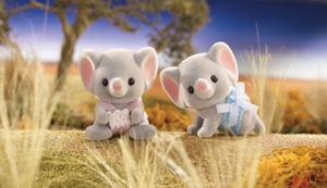 Calico Critters Ellwoods Elephant Twins