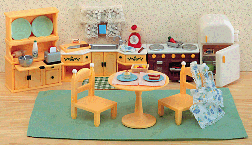 Calico Critters Kozy Kitchen Set