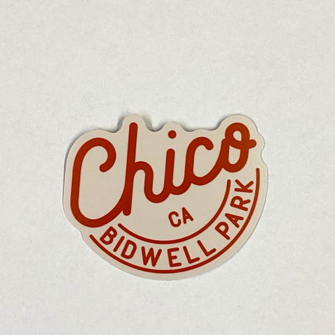 Chico Sticker - Bidwell Park