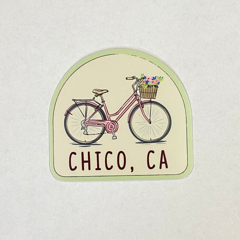 Chico Sticker - Bike With Basket