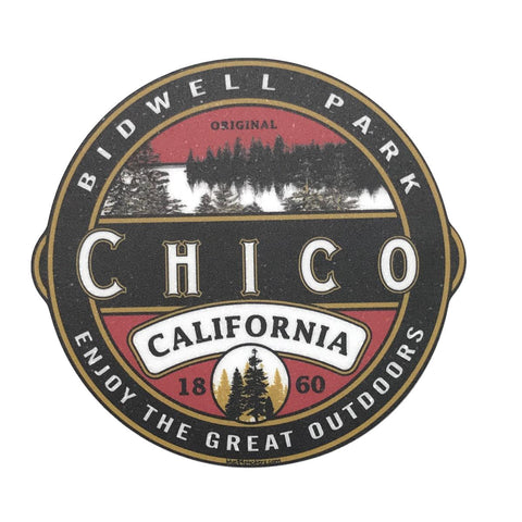 Chico Sticker - Carson Lake