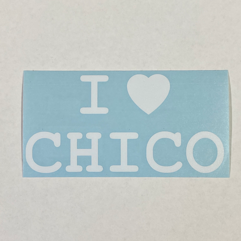 Chico Sticker - I Love Chico