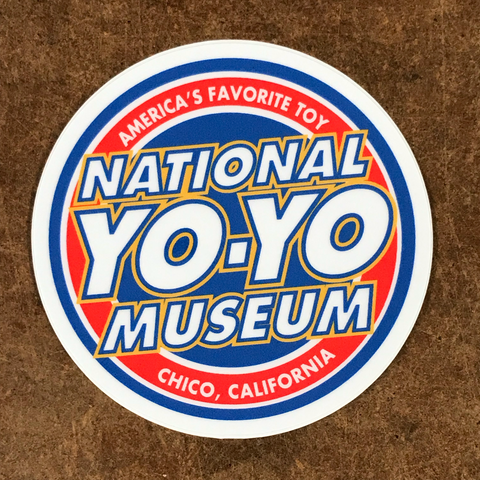 Chico Sticker - National YoYo Museum