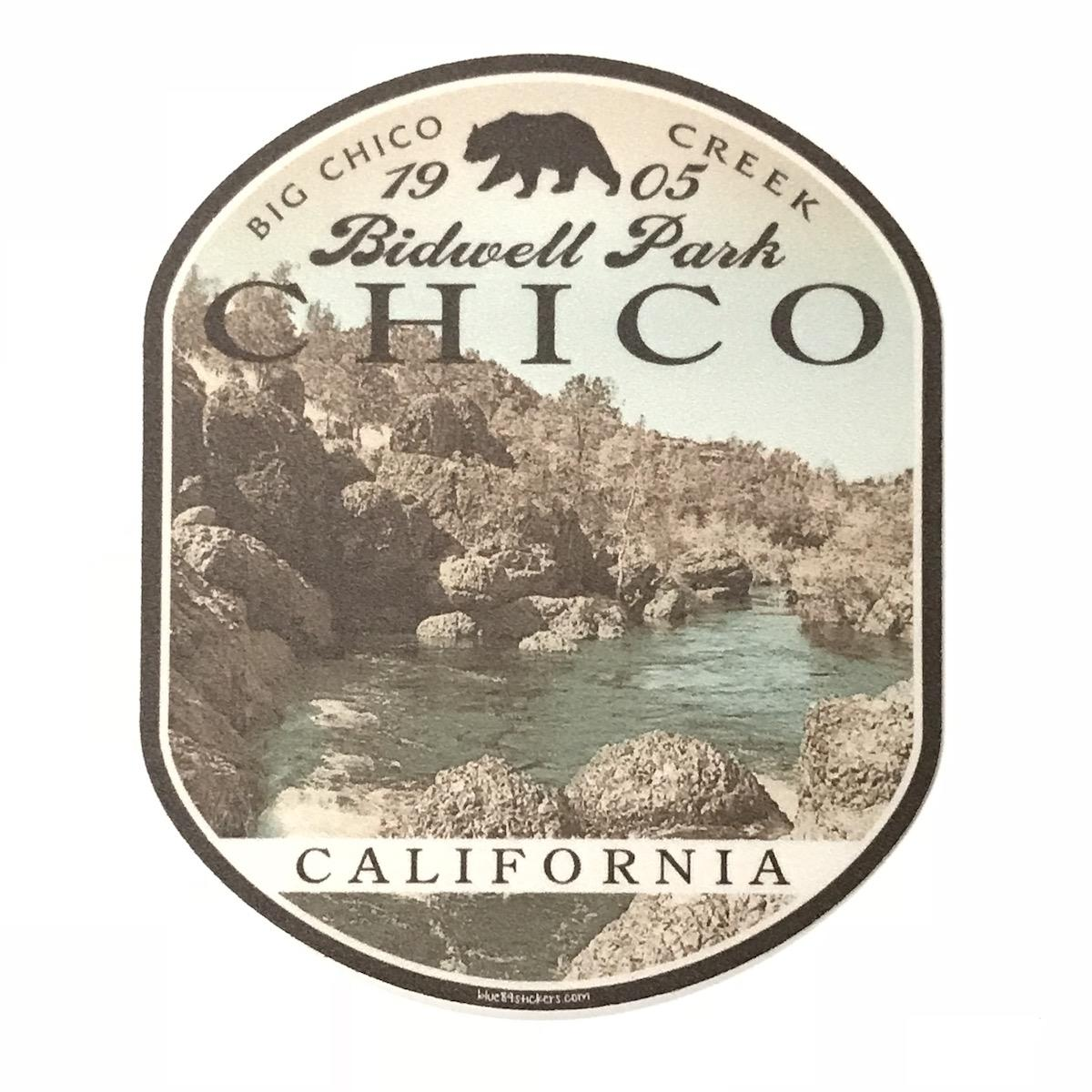 Chico Sticker - Ridgeline