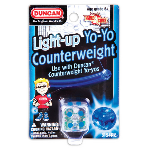Duncan Light Up Counterweight - Blue LED