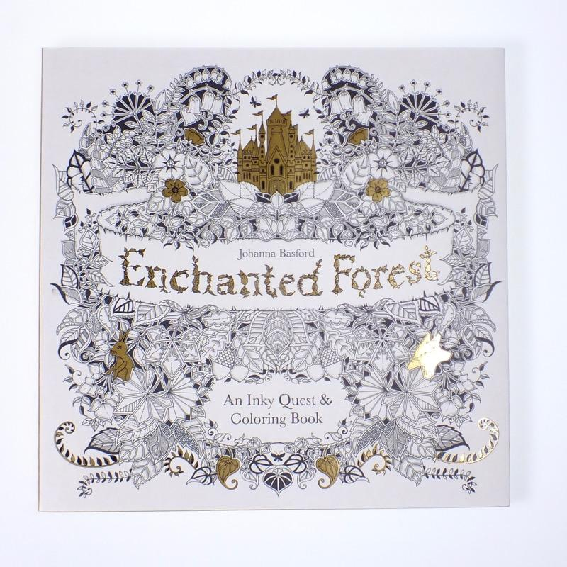 - Enchanted Forest Coloring Book — Bird In Hand